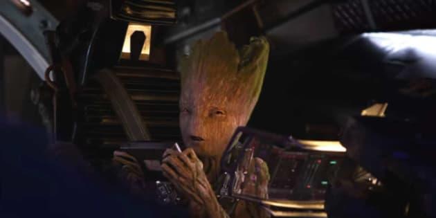 """""""Avengers: Infinity War"""":  un co-producteur dévoile le sens de la dernière réplique de Groot dans le film"""