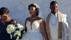 These Photos From Reggie Nkabinde's Wedding Will Give You The Worst
