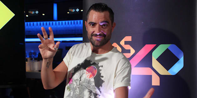 El presentador Dani Mateo.