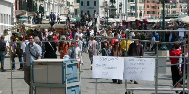 #Minovadovia un anno dopo: lo stupro di Venezia continua