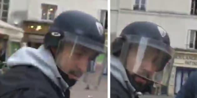 Un collaborateur de Macron identifié en train de frapper un manifestant le 1er mai à Paris