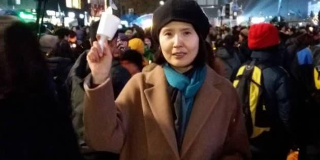 A escritora sul-coreana que denunciou um caso de assédio sexual ao grafar um poema