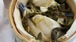 Vite fait, bien fait: poulet aux feuilles de