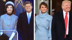 La tenue de Ralph Lauren pour Melania Trump est-elle un hommage à Jackie