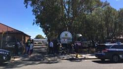Car Crashes Into School Classroom, Killing Two