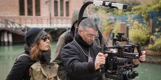 """La regista Wilma Labate, autrice del documentario """"Raccontare Venezia"""", presentato alla Mostra del Cinema alle Giornate degli Autori"""