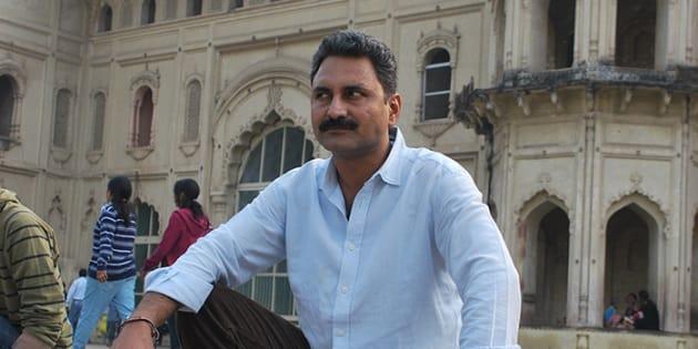 Mahmood Farooqui.         LT ,Lucknow  Photo - By Krishan