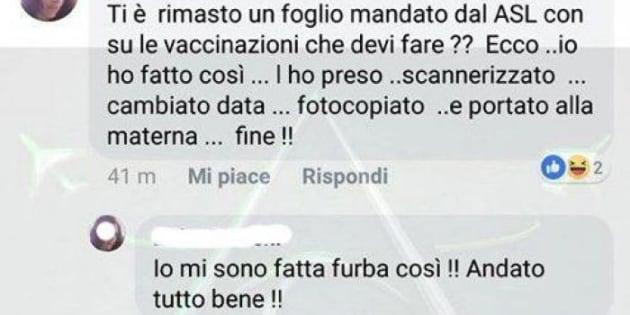 Mamma no vax falsifica certificato e si vanta su Facebook: denunciata
