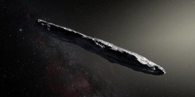 Questo asteroide interstellare potrebbe davvero essere un