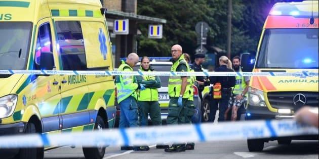 Un uomo spara in pieno centro a Malmoe mentre i tifosi svede