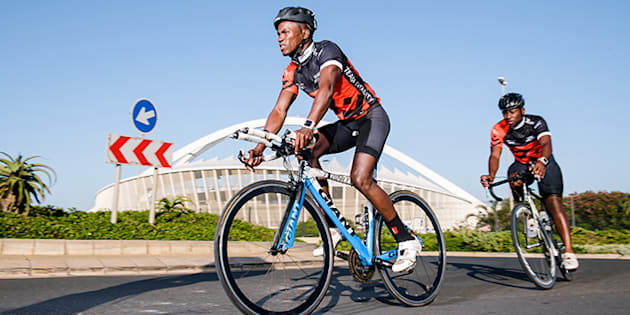 South African triathlete Mhlengi Gwala in hospital after attack with saw