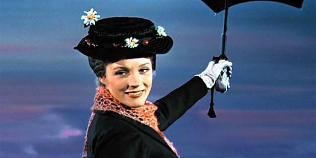 Julie Andrews won an Oscar for her performance in 1964