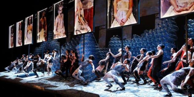 """PESARO - Rossini Opera Festival: una scena dell'opera """"Le Siege de Corinthe""""."""