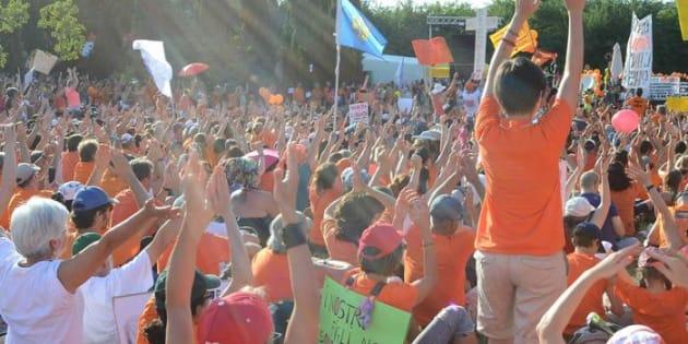 Pesaro, manifestazione 'no vax'