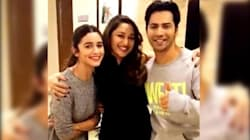 WATCH: Madhuri Dixit Teaching Varun And Alia How To Groove On 'Tamma Tamma' Is Pure