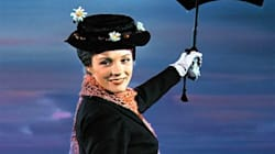 Julie Andrews Almost Died Filming The 'Mary Poppins' Umbrella