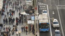 Madrid inaugura su nueva Gran Vía, su avenida más