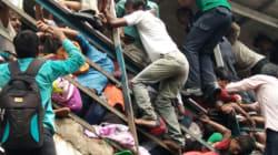Stampede At Mumbai's Elphinstone Railway Station Kills 22, Injures