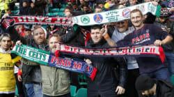 Le carton du PSG à Glasgow n'a pas empêché les supporters des deux équipes de