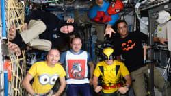 Así celebran Halloween en la Estación Espacial