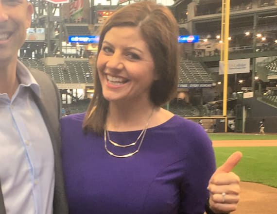 Woman makes history on Colorado Rockies TV broadcast