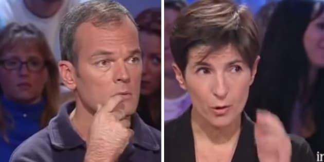 L'arrivée de Christine Angot dans ONPC fait réagir Laurent Baffie, avec qui elle a un lourd passif