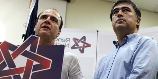 Cristián Monckeberg y Mario Desbordes, de Renovación Nacional.