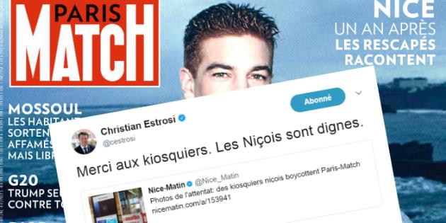Paris Match boycotté à Nice: Christian Estrosi remercie les kiosquiers de sa ville