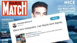 Estrosi remercie les kiosquiers niçois qui boycottent Paris