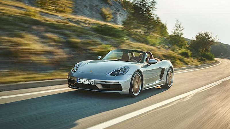 photo of Porsche celebrates 25 years of the Boxster with GTS-powered limited-edition model image
