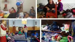 Fray Juan, el sacerdote que llevó Netflix a los niños de la caravana