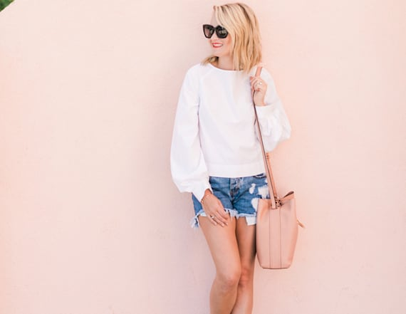 Street style tip of the day: The chic white blouse
