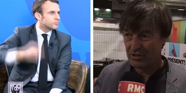 Néonicotinoïdes: ces deux vidéos de Macron et Hulot qui mettent le gouvernement dans l'embarras