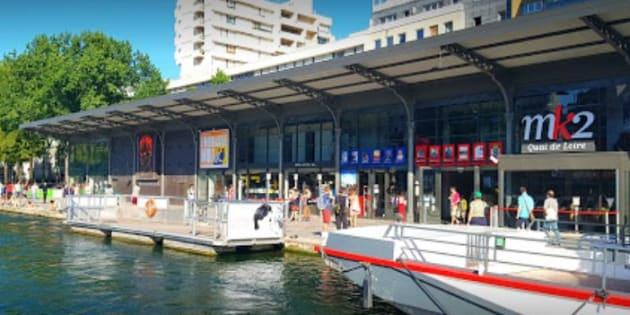 Le cinéma MK2 quai de Loire à Paris (photo d'illustration).