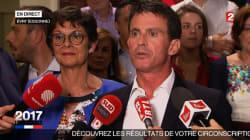 Valls annonce sa victoire sous les