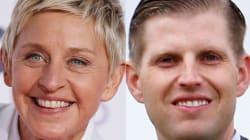 Ellen DeGeneres Ridicules Eric Trump Over His Weird Conspiracy Theory About