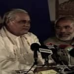 WATCH: How Modi Reacted When Vajpayee Reportedly Rapped Him Over The Gujarat