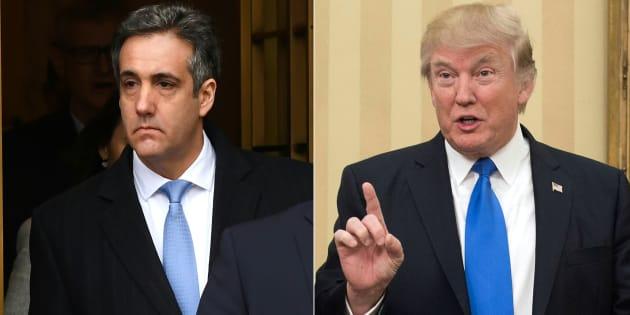 Ingérence russe: Donald Trump a demandé à Michael Cohen de mentir, le scénario d'une destitution relancé.