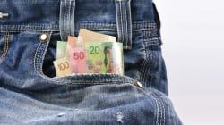 Les Canadiens règlent plus souvent leurs achats avec de l'argent