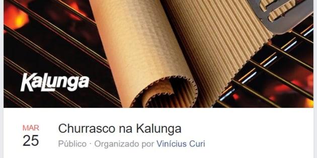 Evento que brinca com o escândalo da Operação Carne Fraca faz sucesso no Facebook.