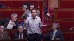 François Ruffin critiqué en séance pour sa chemise sortie du