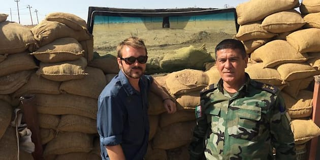 Wyatt Roy in Iraqi Kurdistan