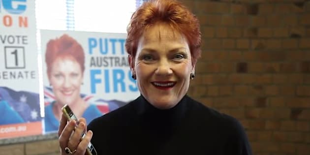 Pauline Hanson is unhappy about the media coverage of her Senate election.