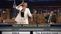 Alicia Keys' Adele Impression Brings Down The