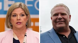NDP's Horwath Gains On Ford 2 Weeks Before Ontario