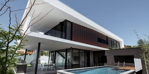 The Triple Deck house is a testament to the use of social media when it comes to architecture as well as interior design.