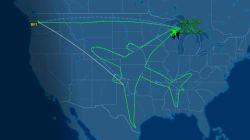 Ces pilotes dessinent un avion avec un