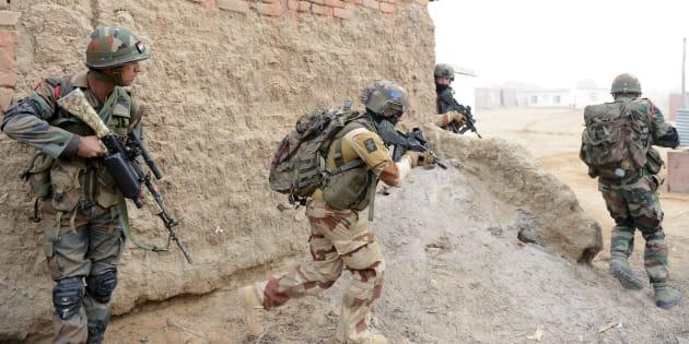 Deux militaires français auraient gravement été blessés par un drone piégé en Irak (photo d'illustration)