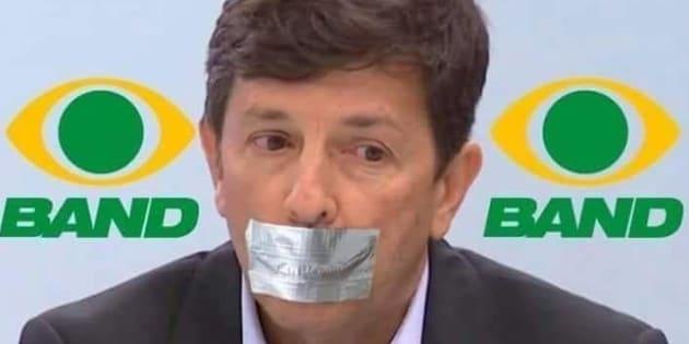 João Amoêdo brincou nas redes que estava sendo amordaçado por não poder participar de debate.