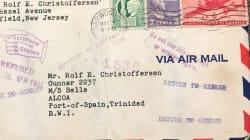 Dopo 72 anni una lettera d'amore spedita durante la seconda guerra mondiale raggiunge il
